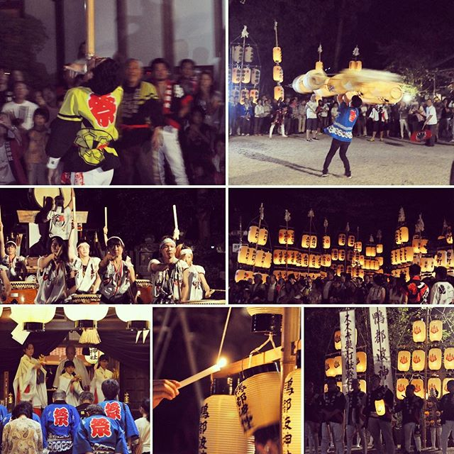 鴨都波神社(かもつばじんじゃ)秋季大祭 宵宮10月8日(土)昨日、鴨都波神社秋季大祭宵宮のススキ提灯献灯行事を見に行ってきました。秋季大祭は五穀豊穣を祝い神様にお礼をするお祭りです。各自治会から30基のススキ提灯が鴨都波神社に集まり、それぞれ練り回して参拝します。最後の鴨若衆(太鼓)と、提灯衆の練回しは一体感が素晴らしかったです。#奈良 #御所 #ススキ提灯献灯行事 #鴨都波神社