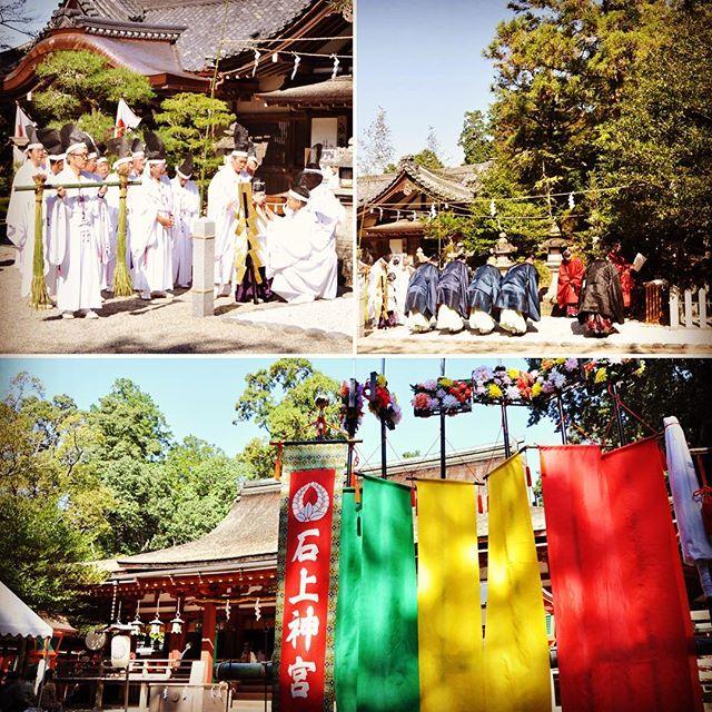 石上神宮例祭(ふるまつり)①詳しくはアメブロ『奈良のおすすめブログ』で!プロフィールのリンクからどうぞ